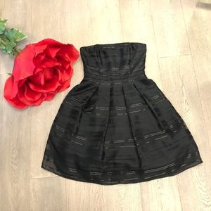 White House Black Market Strapless Cocktail Dress